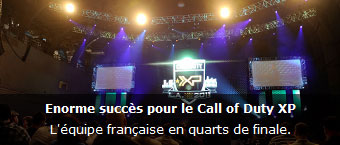 Enorme succes pour le Call of Duty XP