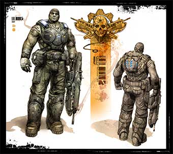 Gears of War 3 (artwork)