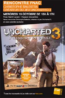 Rencontre UNCHARTED 3 : Christophe Balestra
