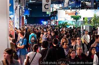 Paris Games Week 2011 : Record d'affluence