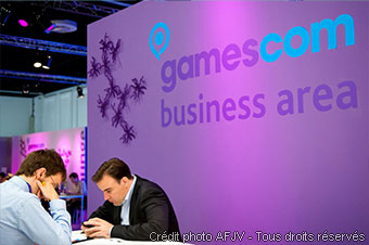 Gamescom business area