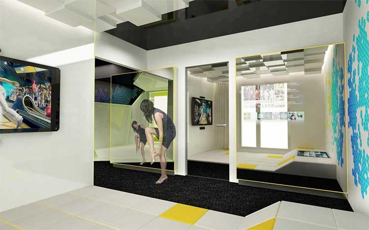 novotel et microsoft xbox cr ent la chambre du futur. Black Bedroom Furniture Sets. Home Design Ideas
