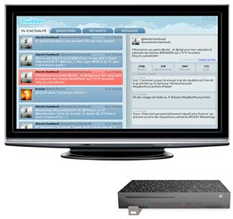 Twitter accessible sur la Freebox Revolution