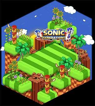 Sonic fête ses 20 ans sur HABBO