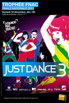 Trophée Fnac Just Dance 3