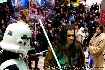 Soirée de lancement de Star Wars the Old Republic au Virgin Megastore (photo 1)