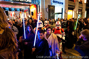 Soirée de lancement de Star Wars the Old Republic au Virgin Megastore (photo 3)