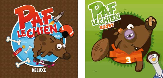 Paf le Chien version Deluxe - Paf le Chien Rugby