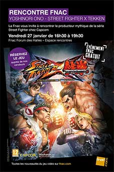 Affiche Street Fighter Fnac