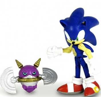 Sonic et Spina Badnik