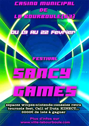 Sancy Games