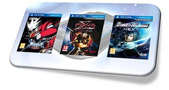 BlazBlue Continuum Shift Extend, Ninja Gaiden Sigma Plus et Dynasty Warriors Next sur PSvita