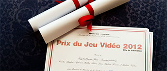 Prix du jeu video 2012