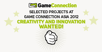 Selected Projects de la Game Connection Asie