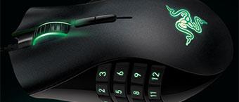 La souris pour MMO Razer Naga