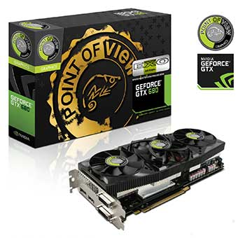 Overclocked Geforce GTX 680 EXO