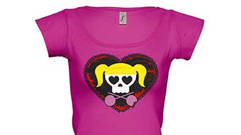 T-shirt Lollipop Chainsaw exclusif