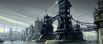Exposition Dishonored - Illustrations et peintures originales