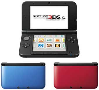 nintendo 3ds xl crans plus grands sortira le 28 juillet. Black Bedroom Furniture Sets. Home Design Ideas