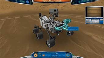 Unity Powers NASA Virtual Mars Rover Experience