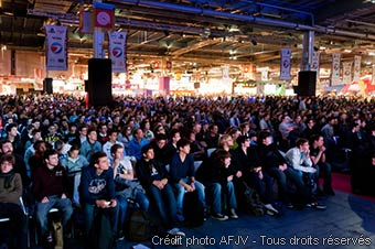 La foule à l'ESWC,ESWC à la Paris Games Week