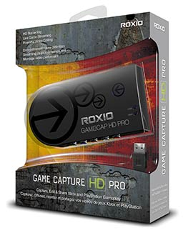 Roxio Game Capture HD PRO (packaging)