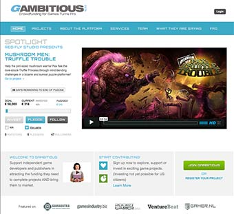 Gambitious Home Page