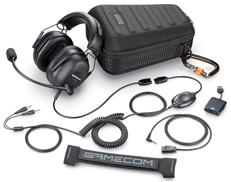 GameCom Commander de Plantronics - micro-casque officiel de l'ESWC