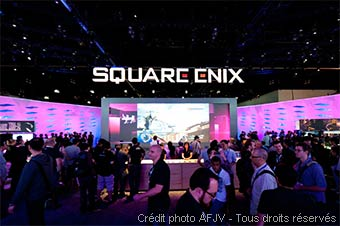 Stand Square Enix à l'E3 (Los Angeles)