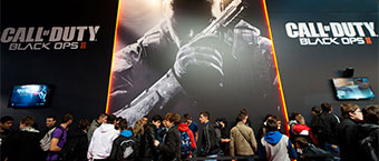 Les photos d& 39;Activision a la Paris Games Week