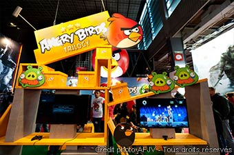 Stand Angry Birds (Paris Games Week 2012)