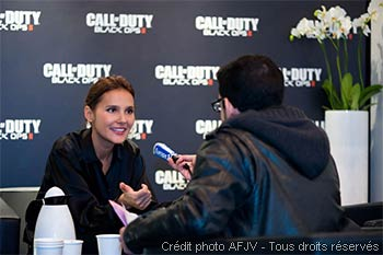 Virginie Ledoyen au Paris Games Week
