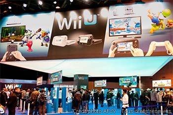 Stand Nintendo Wii U Paris Games Week
