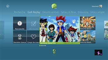 Gulli Replay sur Xbox 360
