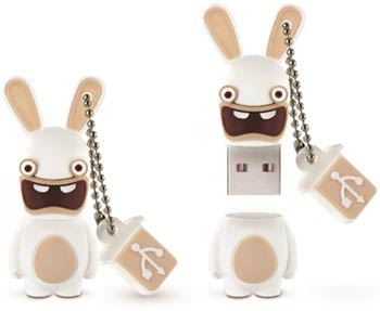 Clé USB The Lapins Crétins Screaming