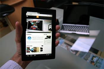 une tablette android 4 avec cran 7 pouces ips pour 129. Black Bedroom Furniture Sets. Home Design Ideas