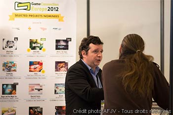 Le stand des Selected projects