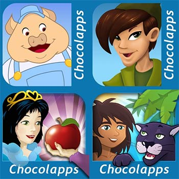 Contes interactifs Chocolapps