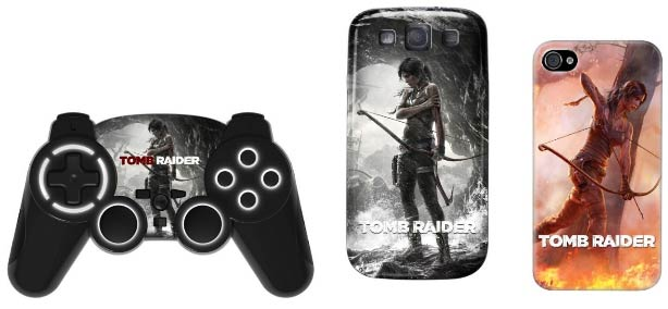 Accessoires Bigben Interactive sous licence Tomb Raider
