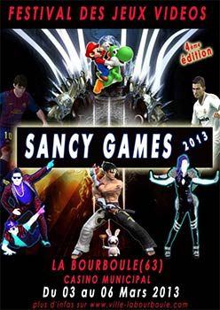 Affiche de Sancy Games 2013