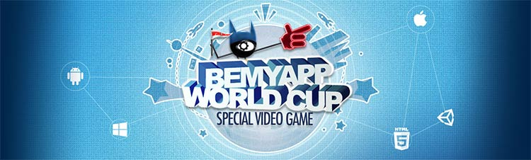 BeMyApp World Cup special Video Game