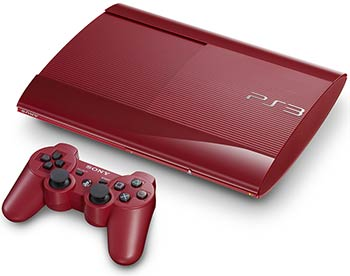 PS3 rouge