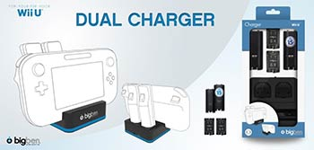 Dual Charger Wii U