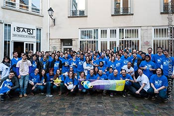 Tous les jammers de la Global Game Jam Paris 2013