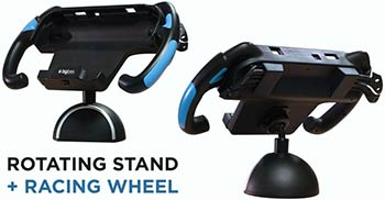 Rotating Stand + Racing Grip