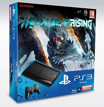 PS3 500Mo + Metal Gear Rising : Revengeance