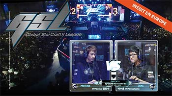 La Global Starcraft II League sur Gong