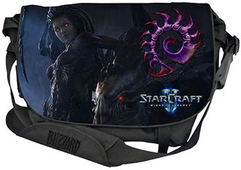 Messenger Bag Razer StarCraft II Zerg Edition