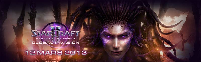 StarCraft II Heart of the Swarm : les évènements officiels