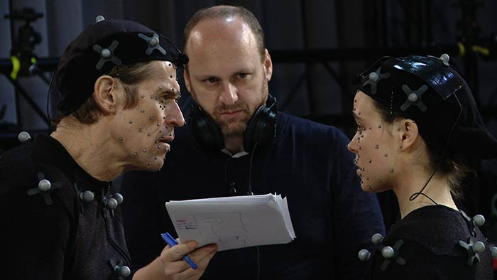 Willem Dafoe, David Cage et Ellen Page sur le tournage de Beyond: Two Souls